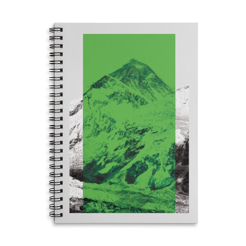 Ever green Accessories Lined Spiral Notebook by Daydalaus designs