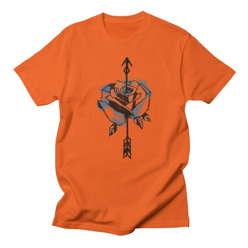 An incomplete Rose Men's T-Shirt by Daydalaus designs