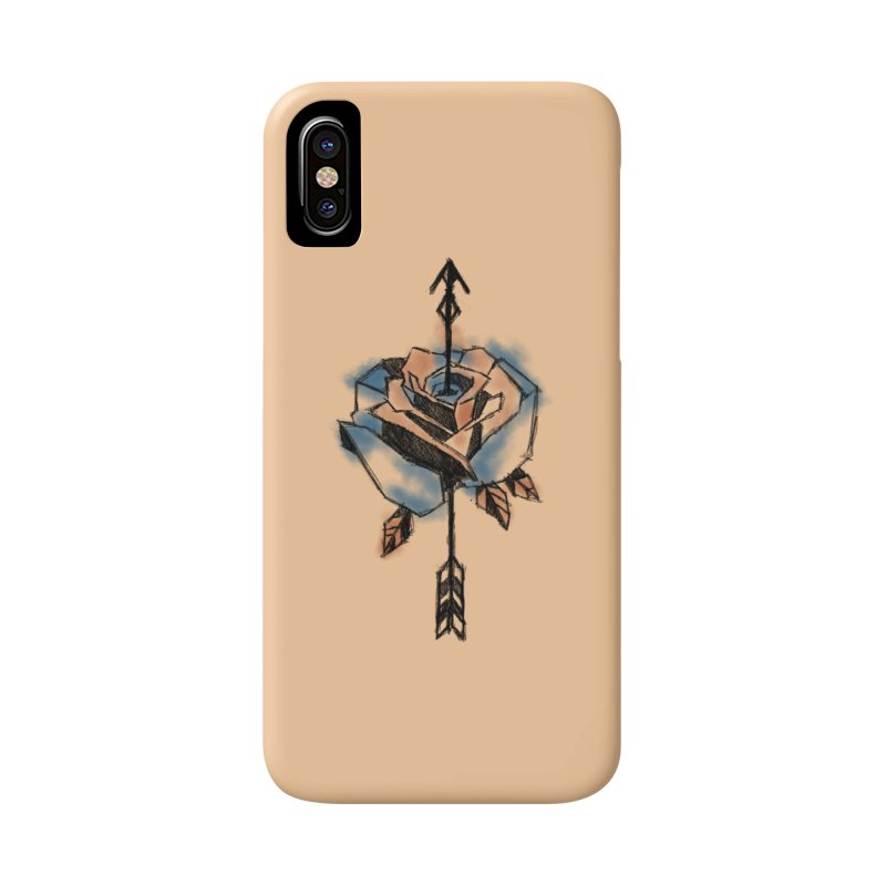 An incomplete Rose Accessories Phone Case by Daydalaus designs