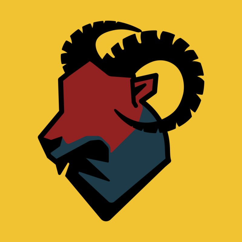 Corporate Ram Logo None  by Daydalaus' Artist Shop