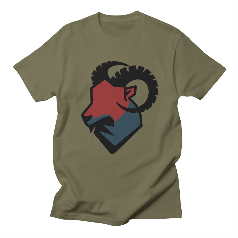 Corporate Ram Logo Men's T-Shirt by Daydalaus designs