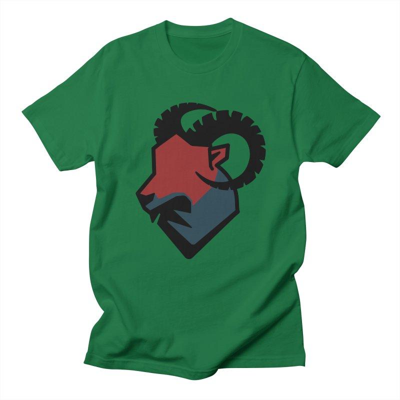 Corporate Ram Logo Men's T-Shirt by Daydalaus designs