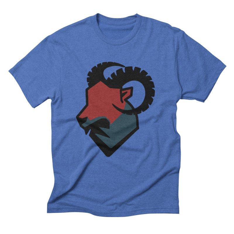 Corporate Ram Logo Men's Triblend T-Shirt by Daydalaus designs