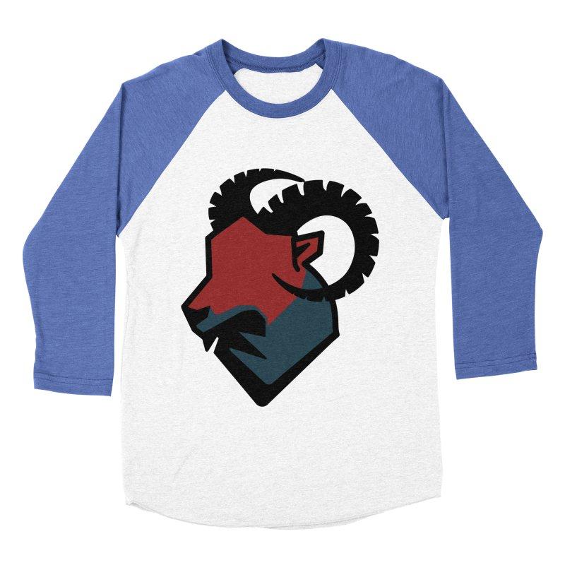 Corporate Ram Logo Men's Baseball Triblend T-Shirt by Daydalaus' Artist Shop
