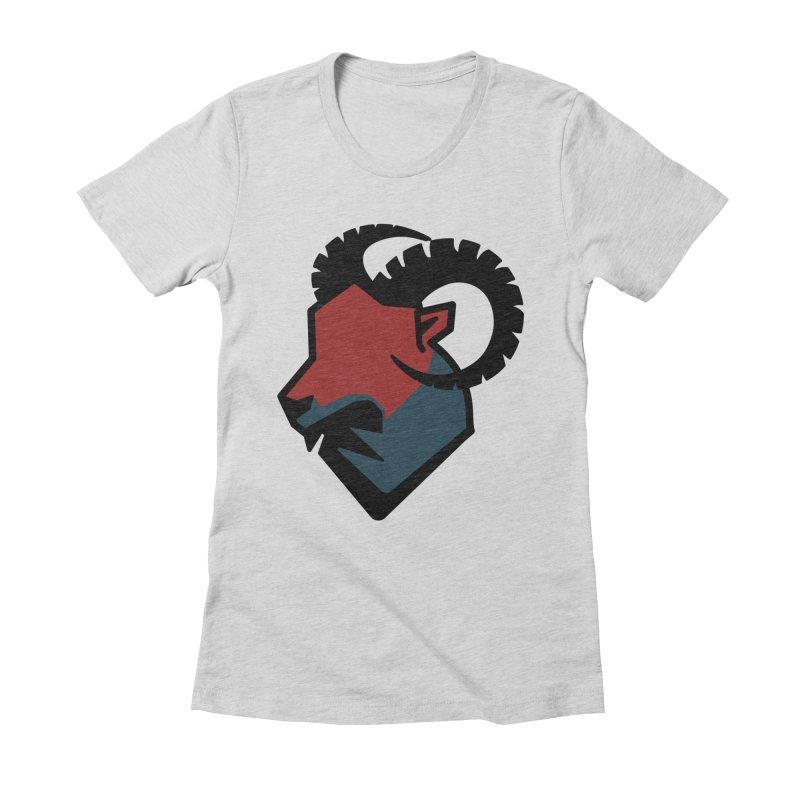 Corporate Ram Logo Women's Fitted T-Shirt by Daydalaus' Artist Shop