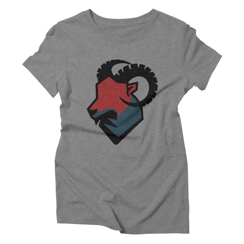 Corporate Ram Logo Women's Triblend T-shirt by Daydalaus' Artist Shop