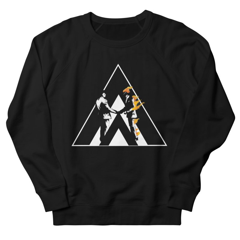 I wish you a dark side Men's French Terry Sweatshirt by Daydalaus designs