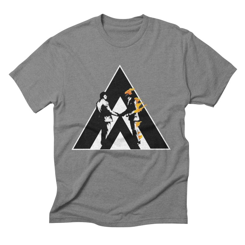 I wish you a dark side Men's Triblend T-Shirt by Daydalaus designs