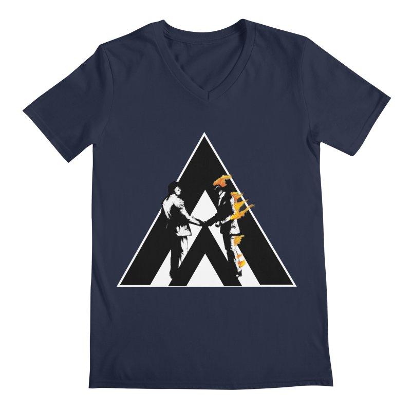 I wish you a dark side Men's V-Neck by Daydalaus designs