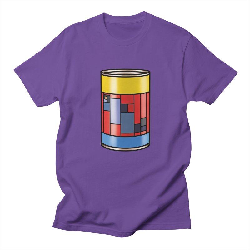Mondrian in a pop can Men's Regular T-Shirt by Daydalaus designs
