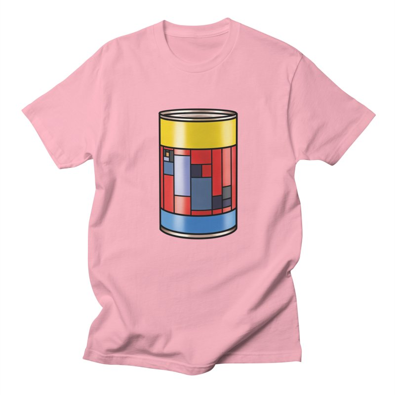 Mondrian in a pop can Men's T-Shirt by Daydalaus designs