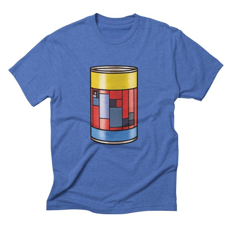 Mondrian in a pop can Men's T-Shirt by Daydalaus designs