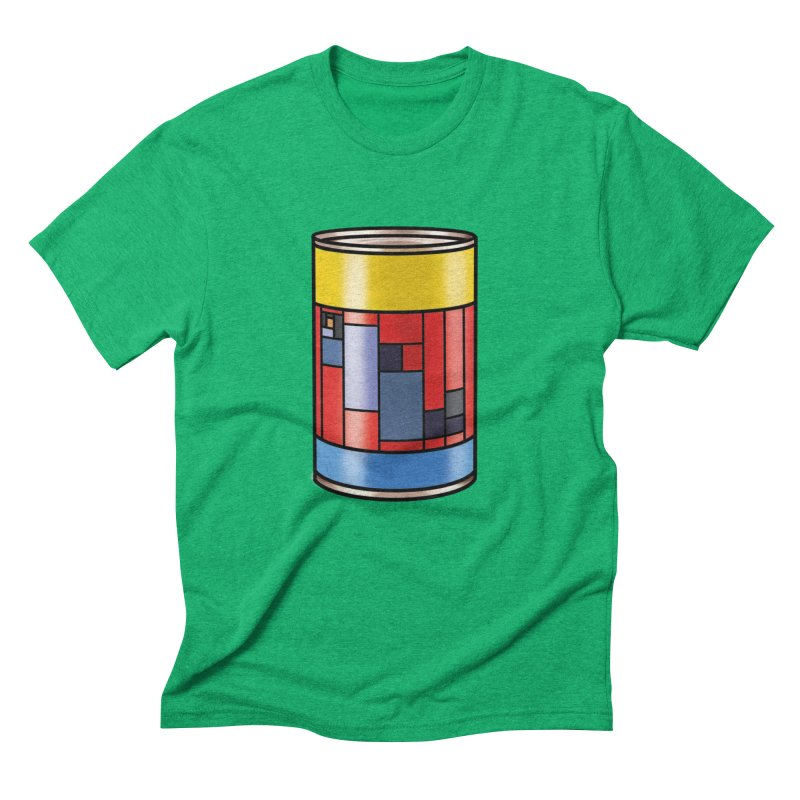 Mondrian in a pop can Men's Triblend T-Shirt by Daydalaus designs