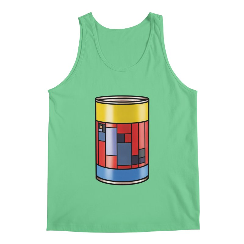 Mondrian in a pop can Men's Tank by Daydalaus designs