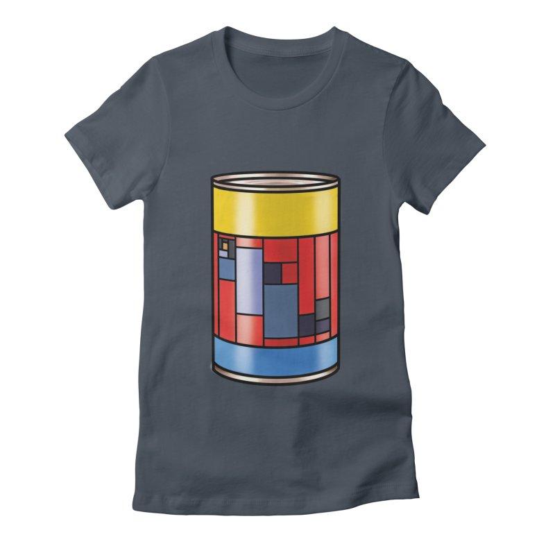 Mondrian in a pop can Women's T-Shirt by Daydalaus designs