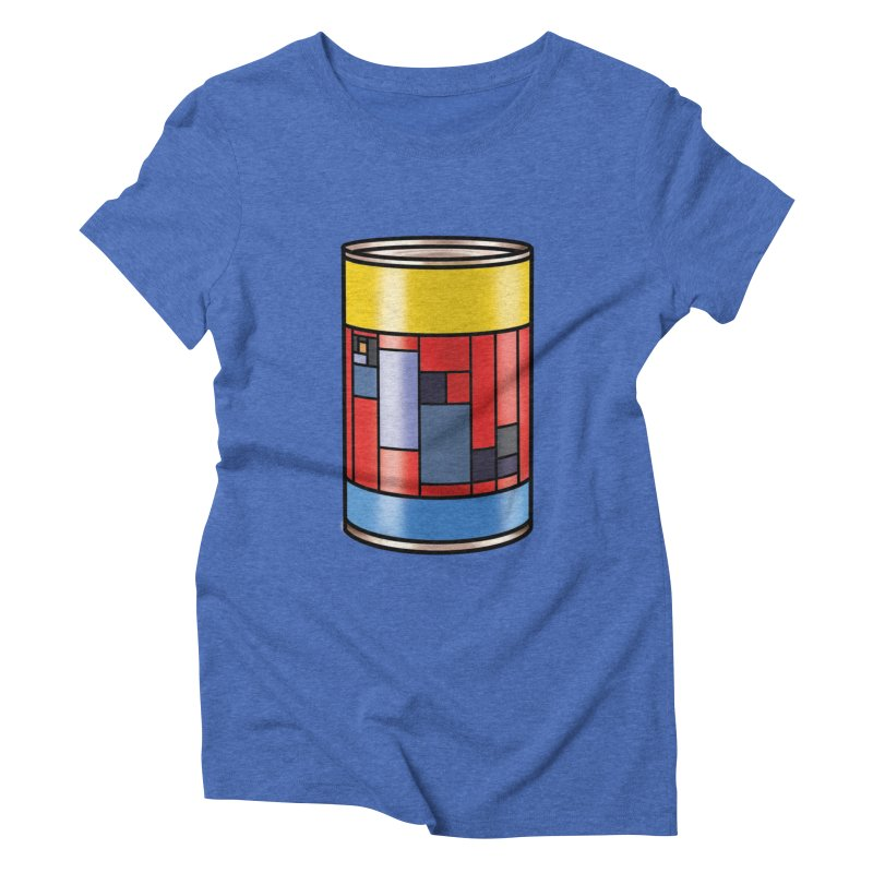 Mondrian in a pop can   by Daydalaus' Artist Shop