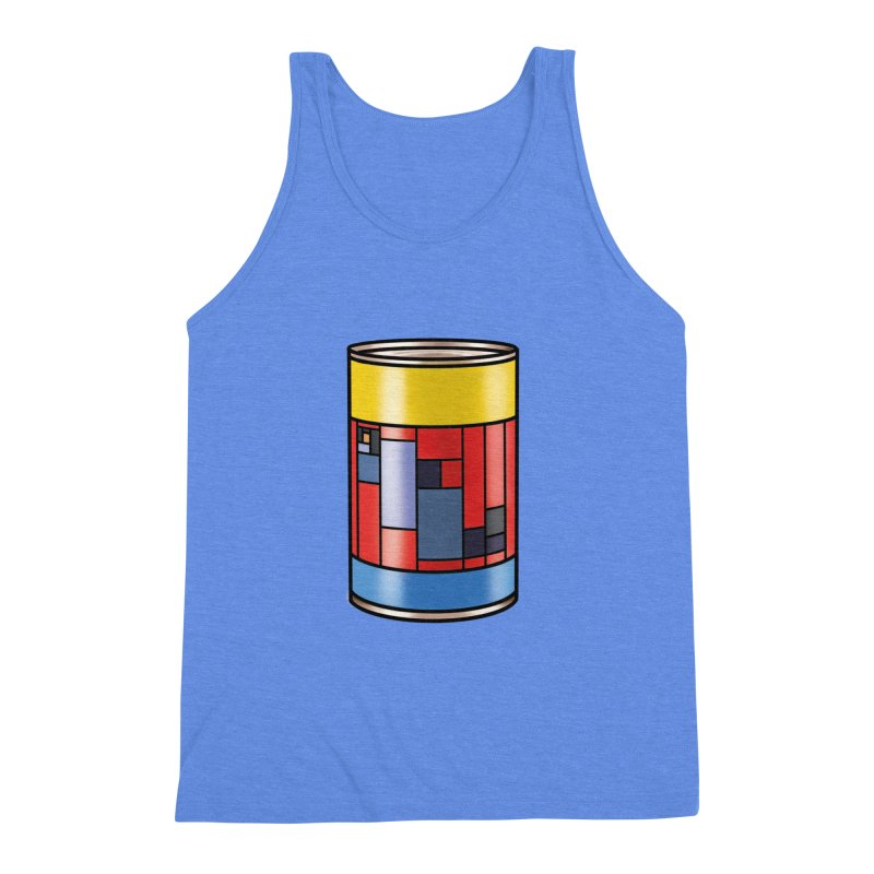 Mondrian in a pop can Men's Triblend Tank by Daydalaus' Artist Shop