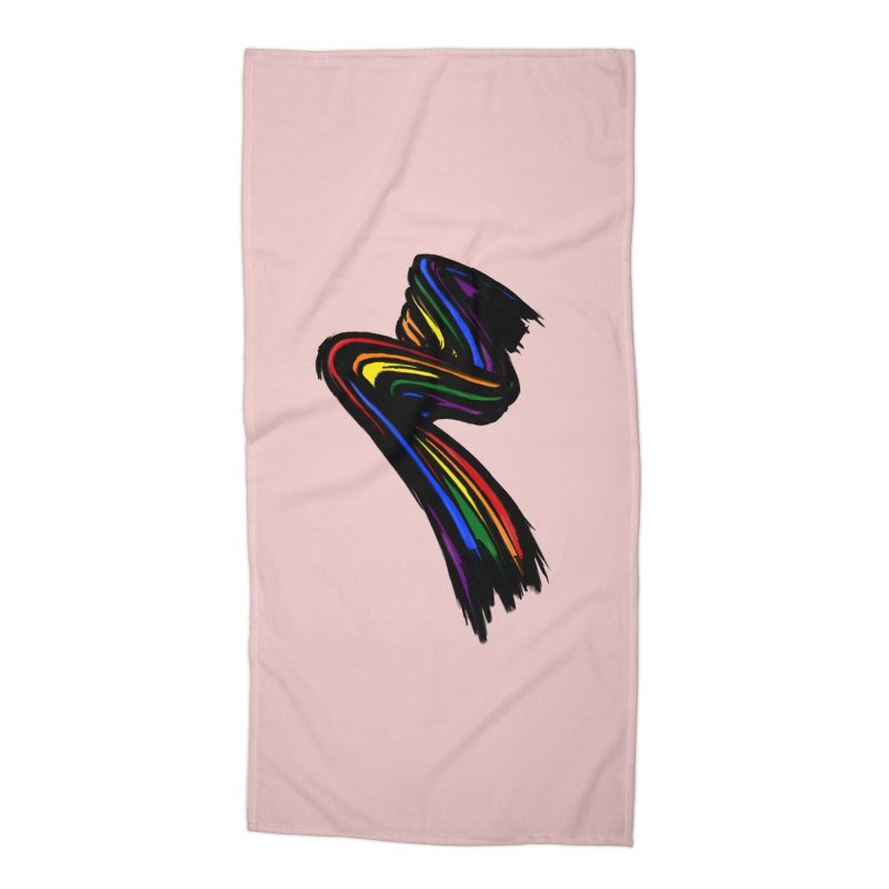 Pride paint Accessories Beach Towel by Daydalaus designs