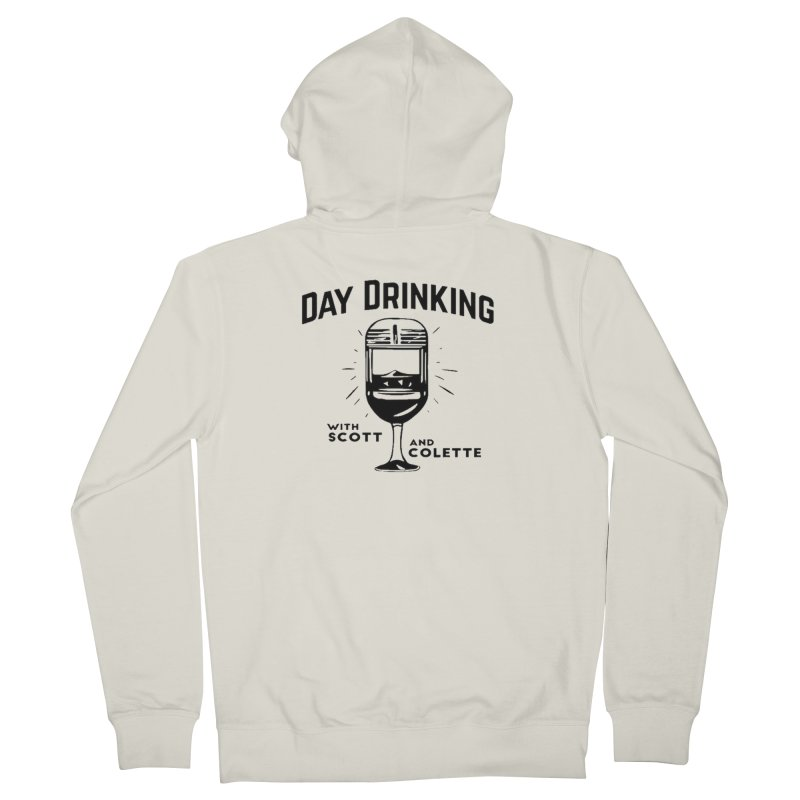 Day Drinking With Scott and Colette Merch! Men's Zip-Up Hoody by The Official Store of the Big Brother Gossip Show