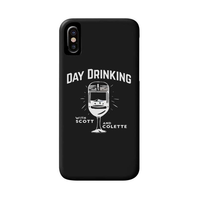Day Drinking Dark Accessories Phone Case by The Official Store of the Big Brother Gossip Show