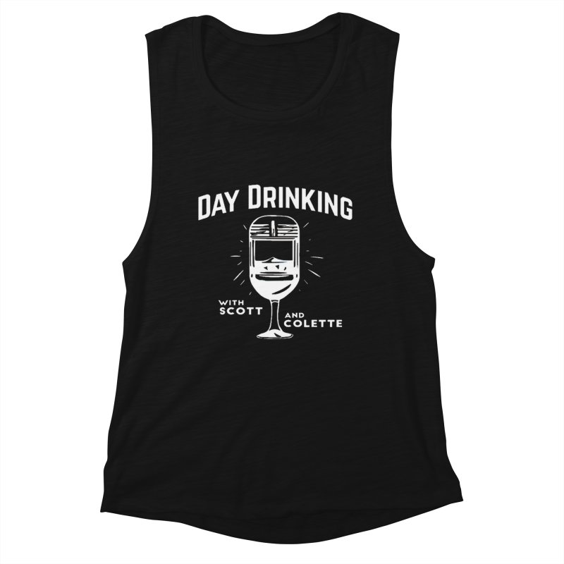 Day Drinking Dark Women's Tank by The Official Store of the Big Brother Gossip Show