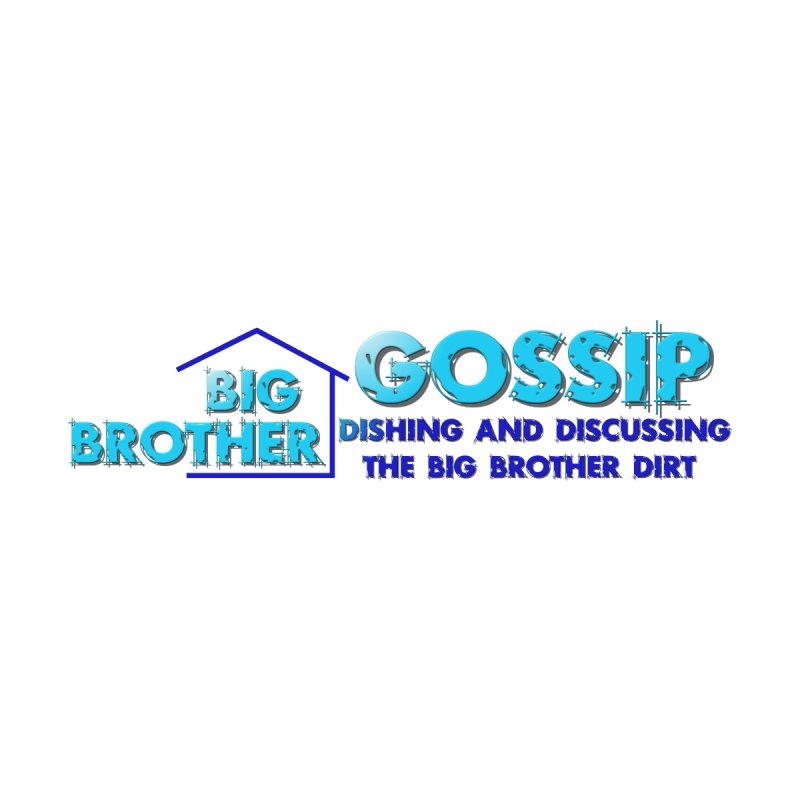 Big Brother Gossip Horizontal Men's T-Shirt by The Official Store of the Big Brother Gossip Show