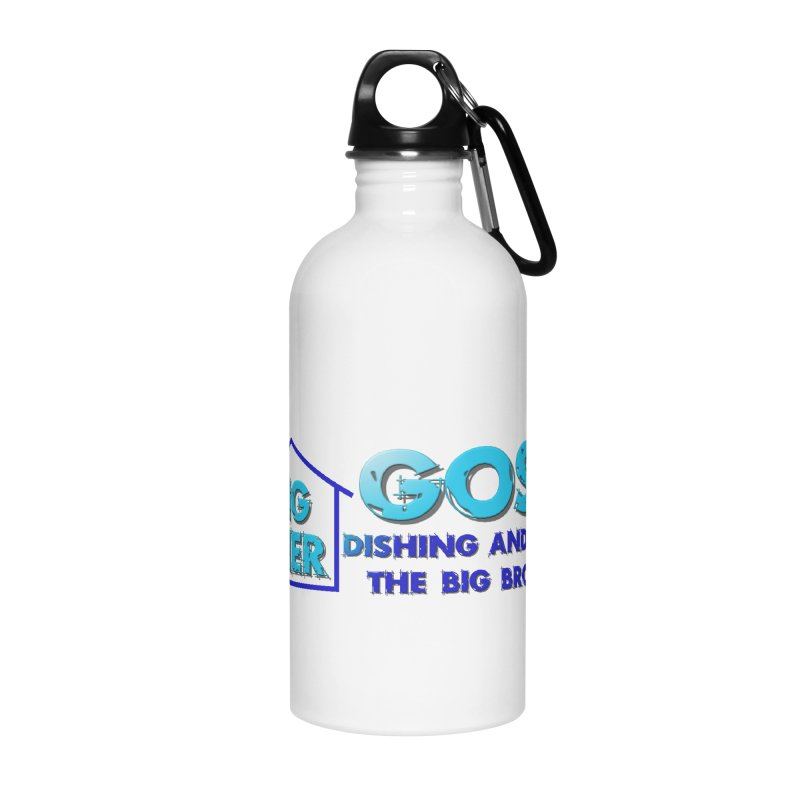 Big Brother Gossip Horizontal Accessories Water Bottle by The Official Store of the Big Brother Gossip Show