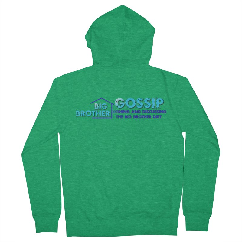 Big Brother Gossip Horizontal Men's Zip-Up Hoody by The Official Store of the Big Brother Gossip Show
