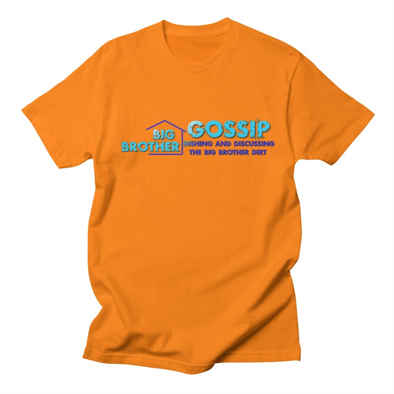 Big Brother Gossip Horizontal Men's T-Shirt by The Official Store of the Big Brother Gossip Show
