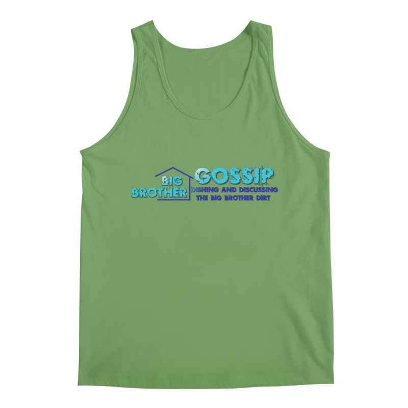 Big Brother Gossip Horizontal Men's Tank by The Official Store of the Big Brother Gossip Show