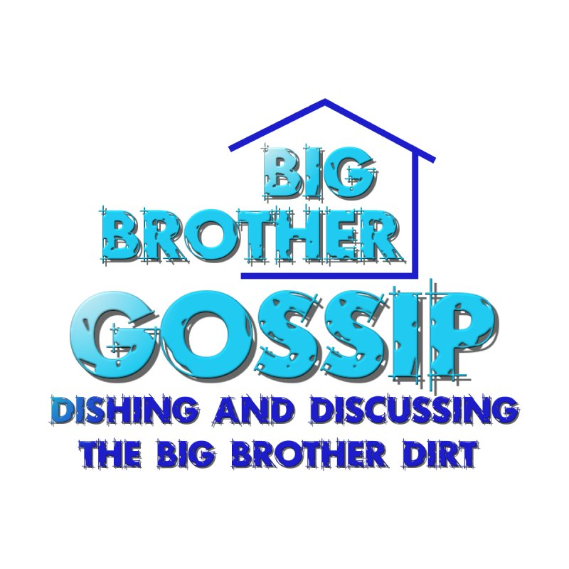 Big Brother Gossip Vertical Men's Tank by The Official Store of the Big Brother Gossip Show