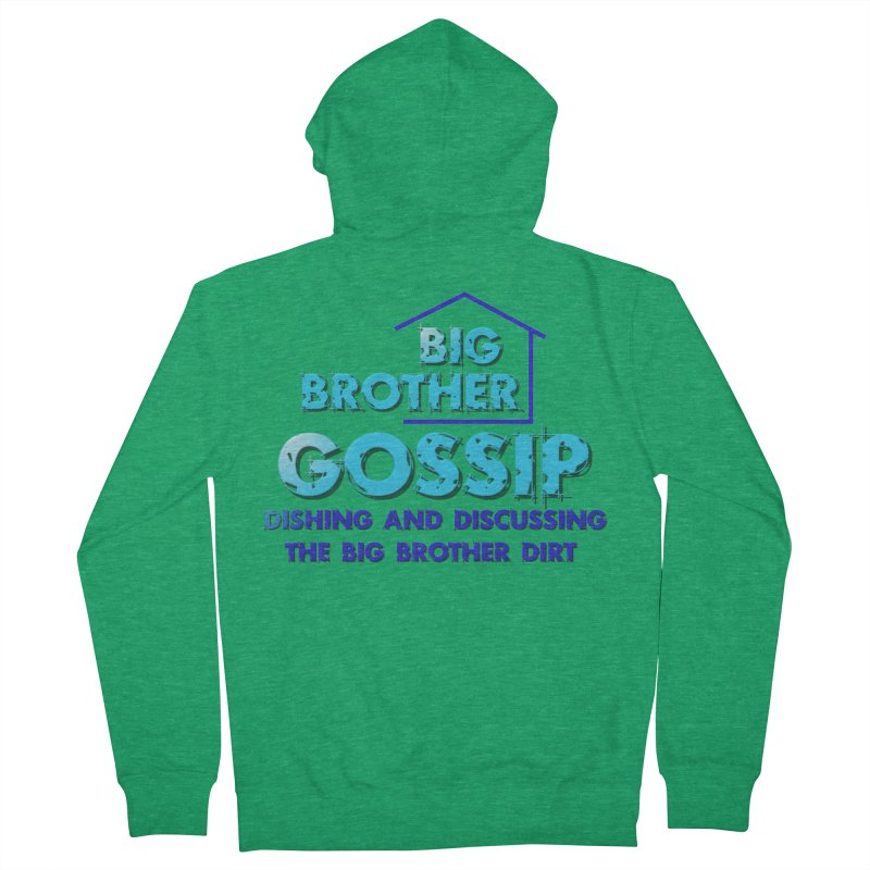 Big Brother Gossip Vertical Women's French Terry Zip-Up Hoody by The Official Store of the Big Brother Gossip Show