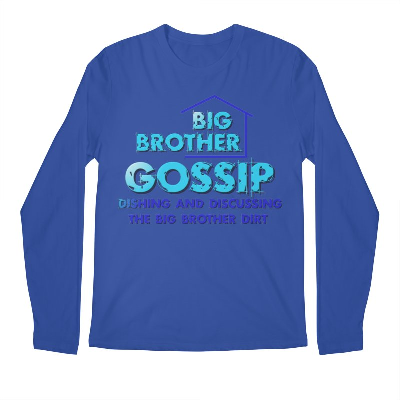 Big Brother Gossip Vertical Men's Regular Longsleeve T-Shirt by The Official Store of the Big Brother Gossip Show