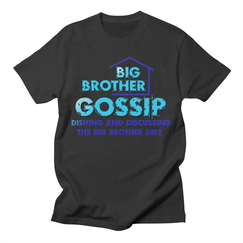 Big Brother Gossip Vertical Men's T-Shirt by The Official Store of the Big Brother Gossip Show