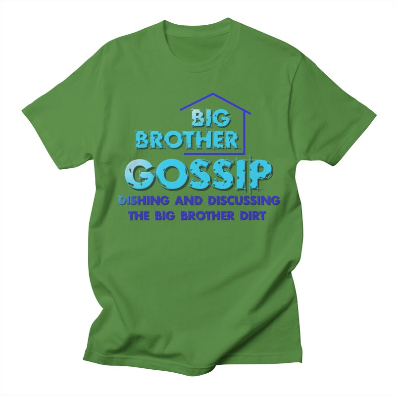 Big Brother Gossip Vertical Men's T-Shirt by The Official Store of the Big Brother Gossip Show