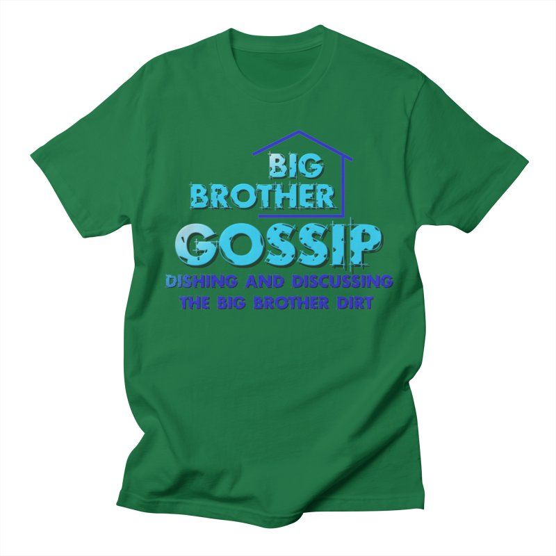 Big Brother Gossip Vertical Men's Regular T-Shirt by The Official Store of the Big Brother Gossip Show