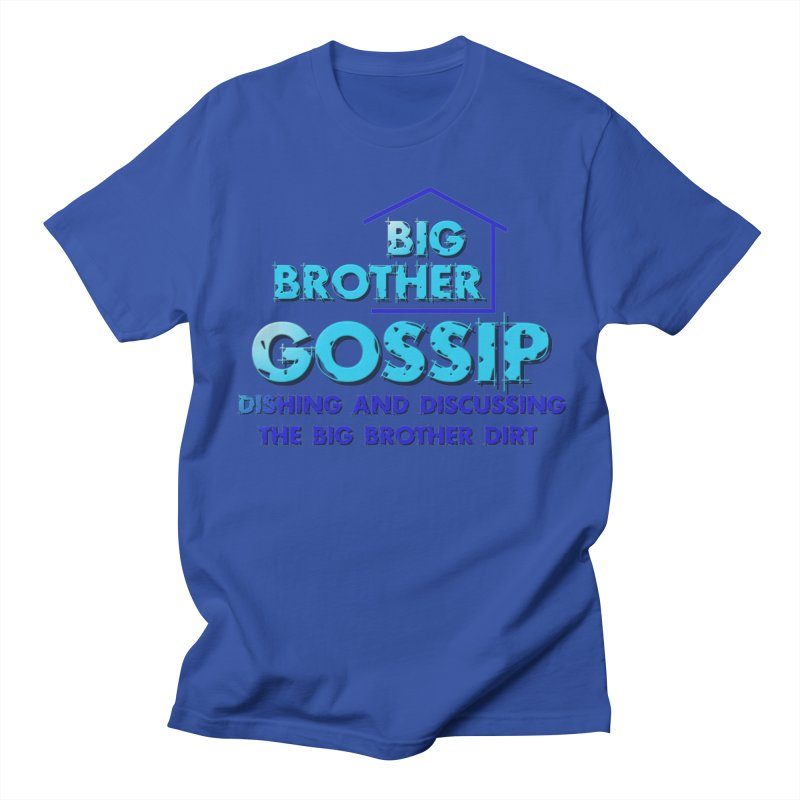 Big Brother Gossip Vertical Women's Regular Unisex T-Shirt by The Official Store of the Big Brother Gossip Show