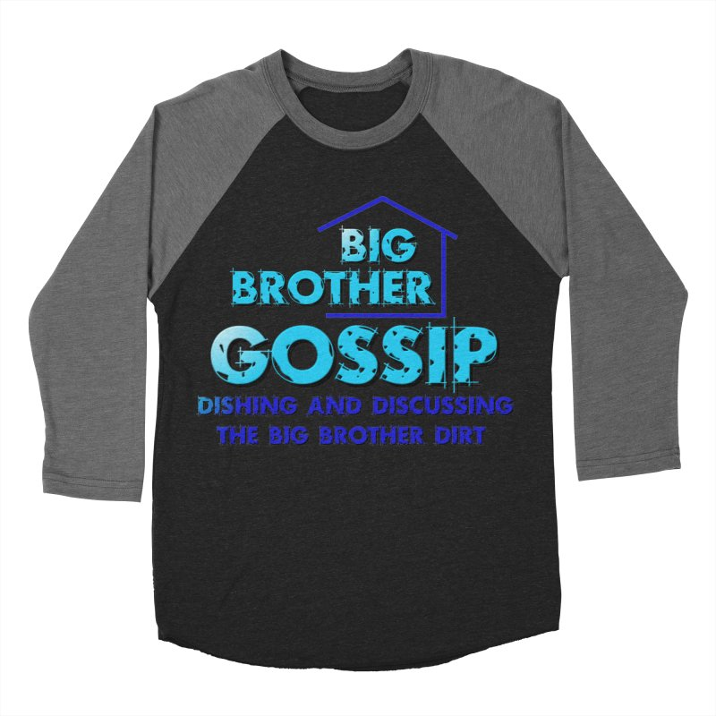 Big Brother Gossip Vertical Women's Baseball Triblend Longsleeve T-Shirt by The Official Store of the Big Brother Gossip Show