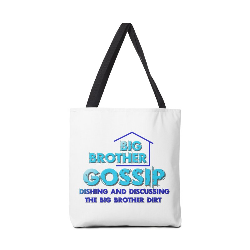 Big Brother Gossip Vertical Accessories Tote Bag Bag by The Official Store of the Big Brother Gossip Show