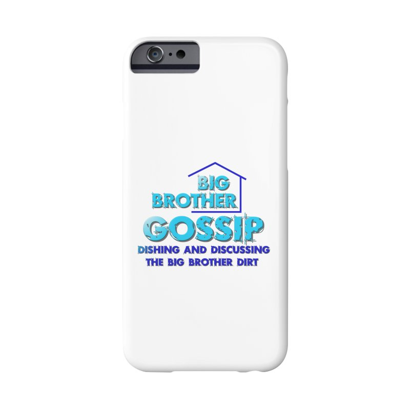 Big Brother Gossip Vertical Accessories Phone Case by The Official Store of the Big Brother Gossip Show