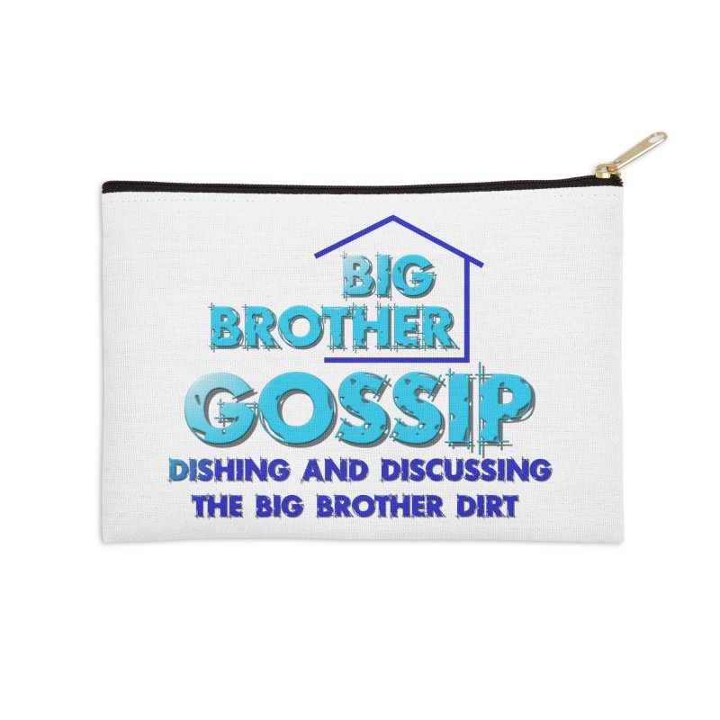 Big Brother Gossip Vertical Accessories Zip Pouch by The Official Store of the Big Brother Gossip Show