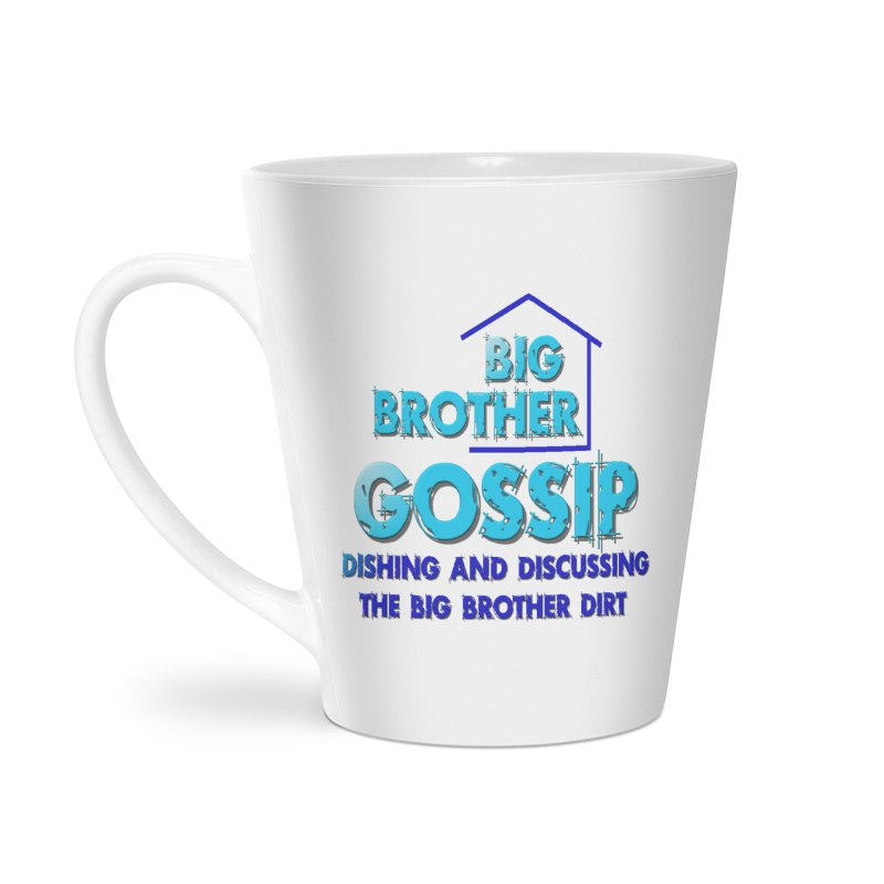 Big Brother Gossip Vertical Accessories Latte Mug by The Official Store of the Big Brother Gossip Show