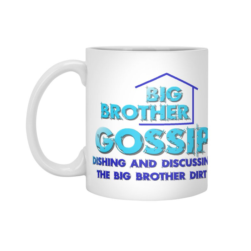 Big Brother Gossip Vertical Accessories Standard Mug by The Official Store of the Big Brother Gossip Show