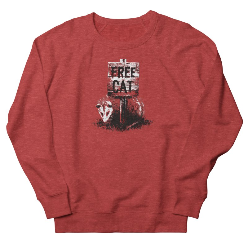 Free Cat Men's Sweatshirt by dayswideawake