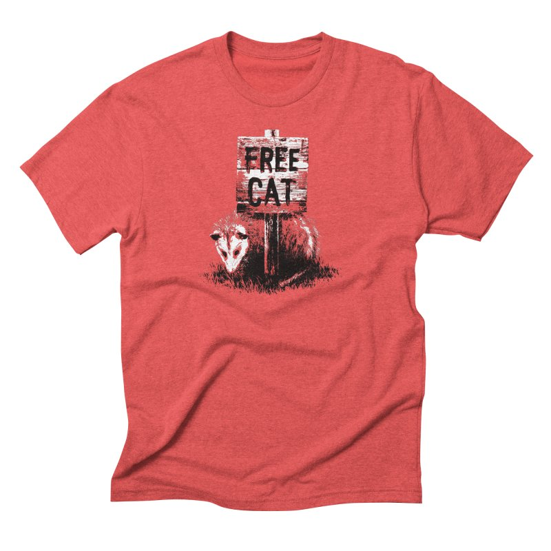 Free Cat Men's Triblend T-Shirt by dayswideawake