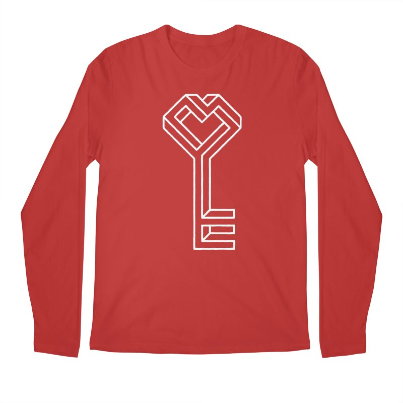 Key to the Kingdom Men's Longsleeve T-Shirt by dayswideawake