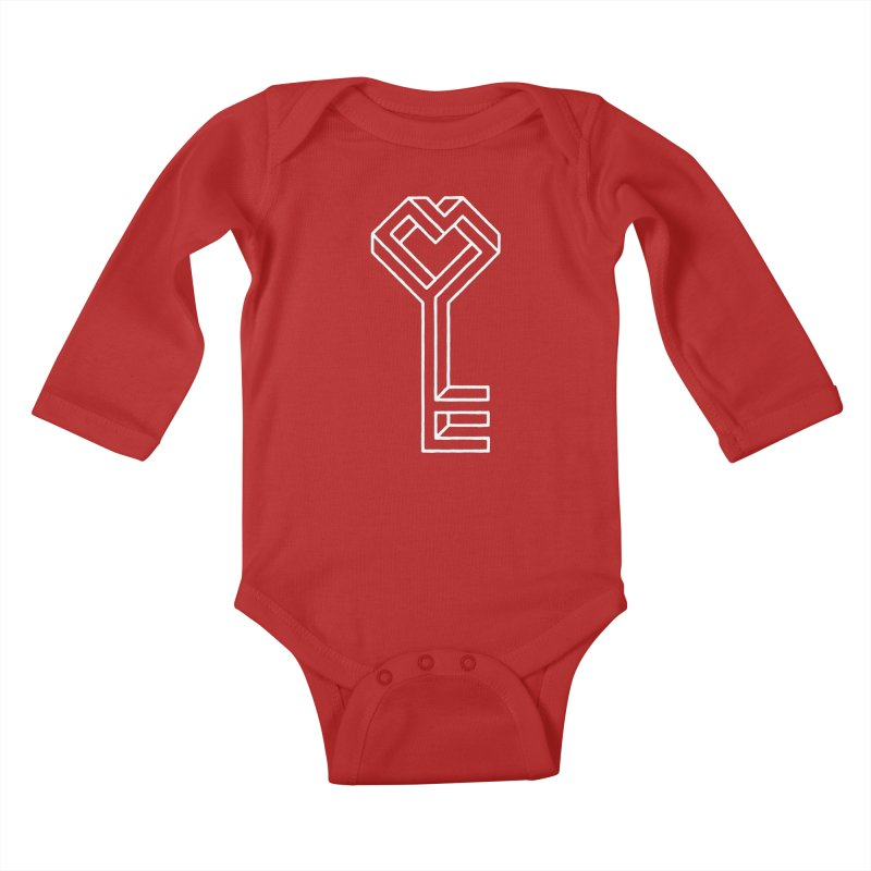 Key to the Kingdom Kids Baby Longsleeve Bodysuit by dayswideawake