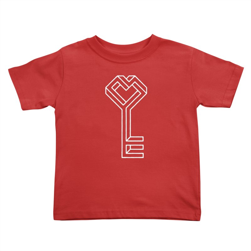 Key to the Kingdom Kids Toddler T-Shirt by dayswideawake