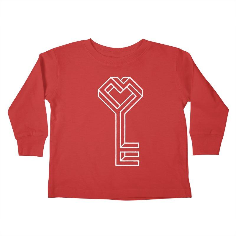 Key to the Kingdom Kids Toddler Longsleeve T-Shirt by dayswideawake