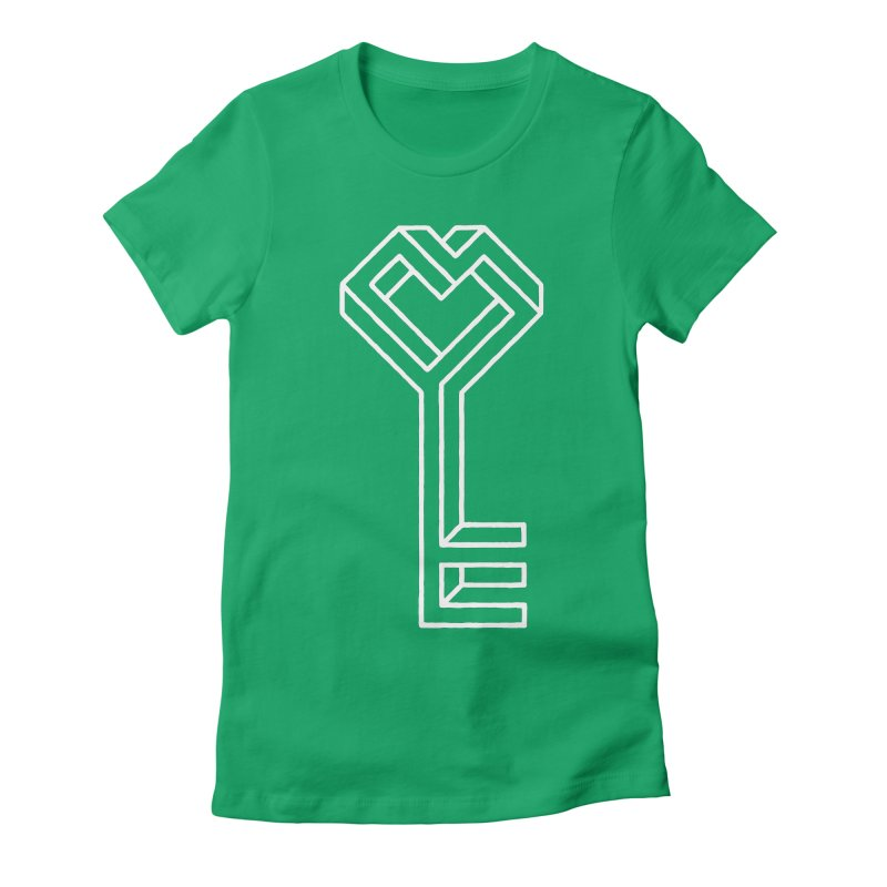 Key to the Kingdom Women's Fitted T-Shirt by dayswideawake